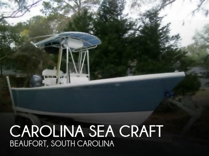 2010 Carolina Sea Craft 208 SAVANNAH OFFSHORE Photo 1 of 20