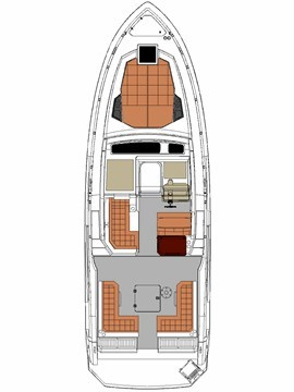 2017 Cruisers Yachts 39 Express Coupe Photo 38 sur 39