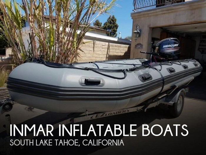 INMAR Inflatable Boats 470-PT 2016 Used Boat for Sale in South Lake Tahoe,  California - BoatDealers ca