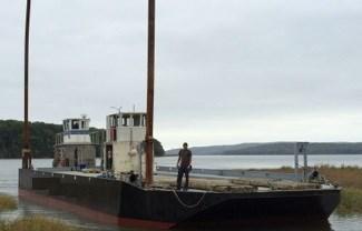 2000 96' x 32' x 6' Deck Barge Photo 1 sur 1