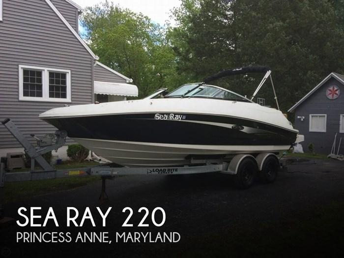 2014 Sea Ray 220 Photo 1 of 20