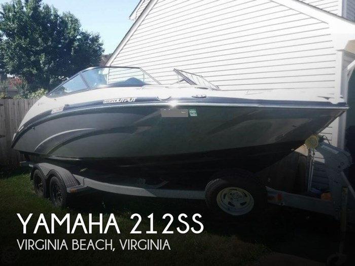 2013 Yamaha 212SS Photo 1 of 20