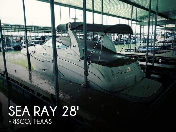2004 Sea Ray 280 Sundancer Photo 1 sur 20