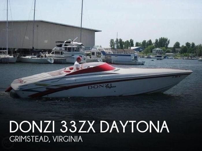 1998 Donzi 33ZX Daytona Photo 1 of 20