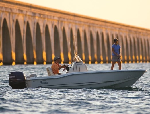 2018 Scout 175 Sport Fish Photo 2 of 5