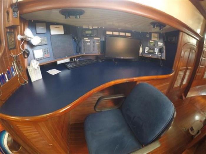 1985 Hans Christian Center Cockpit 48T Hull #5 Photo 9 of 18