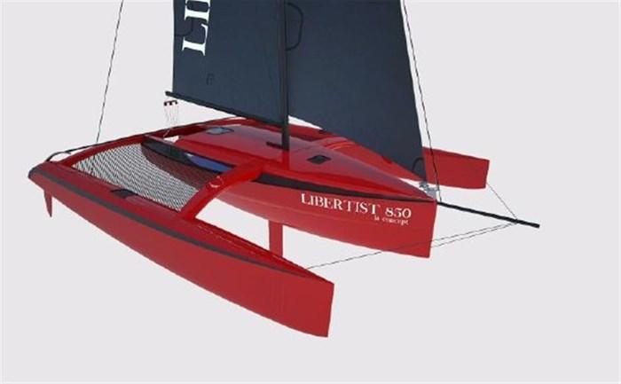 2017 CUSTOM Rega Yachts Libertist 850 Trimaran Photo 3 of 6