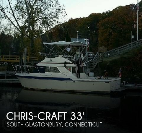 1984 Chris-Craft 315 Commander Sport Fish Photo 1 sur 20