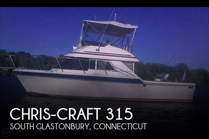 1984 Chris-Craft 315 Commander Sport Fish Photo 1 sur 20
