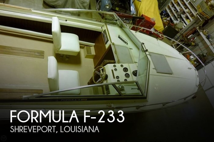 Formula F-233 1977 Used Boat for Sale in Shreveport, Louisiana -  BoatDealers ca