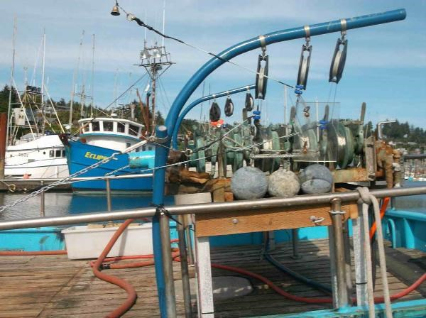 1951 Commercial Troller, Longline, Tuna, Crab Photo 5 of 6