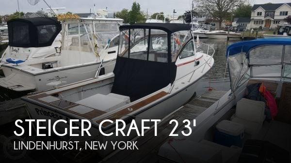 1989 Steiger Craft 23 Block Island Photo 1 sur 20