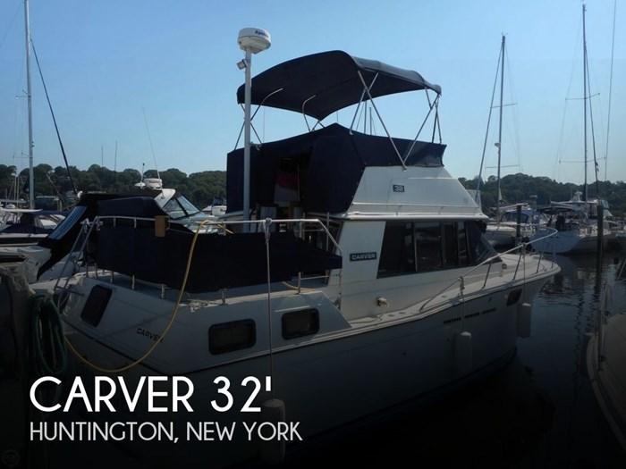Carver 3207 Aft Cabin 1984 Used Boat for Sale in Huntington, New York -  BoatDealers ca