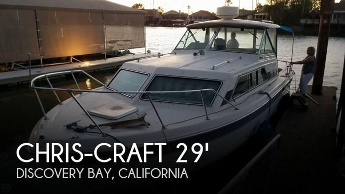 1984 Chris-Craft Catalina 281 Photo 1 sur 20