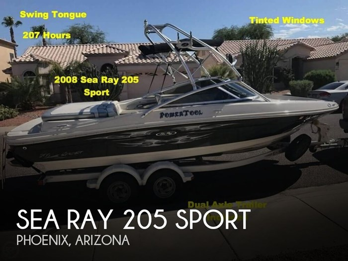 2008 Sea Ray 205 Sport Photo 1 of 20