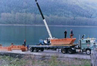 1996 4 Section-Pontoon Sectional Barge Motivated Seller - Make on OFFER Photo 3 of 8