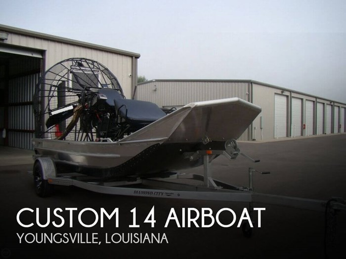 Custom 14 Airboat 2017 Used Boat for Sale in Youngsville, Louisiana -  BoatDealers ca