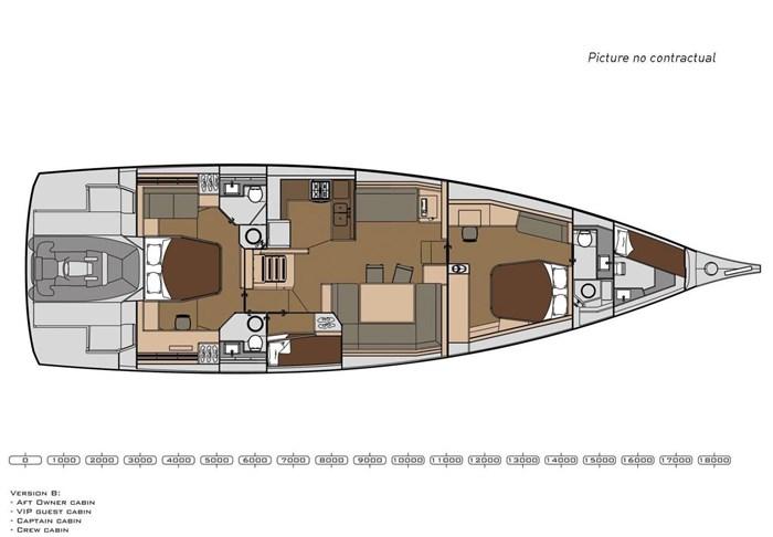 2019 Dufour Yachts Exclusive 63 Photo 41 sur 45