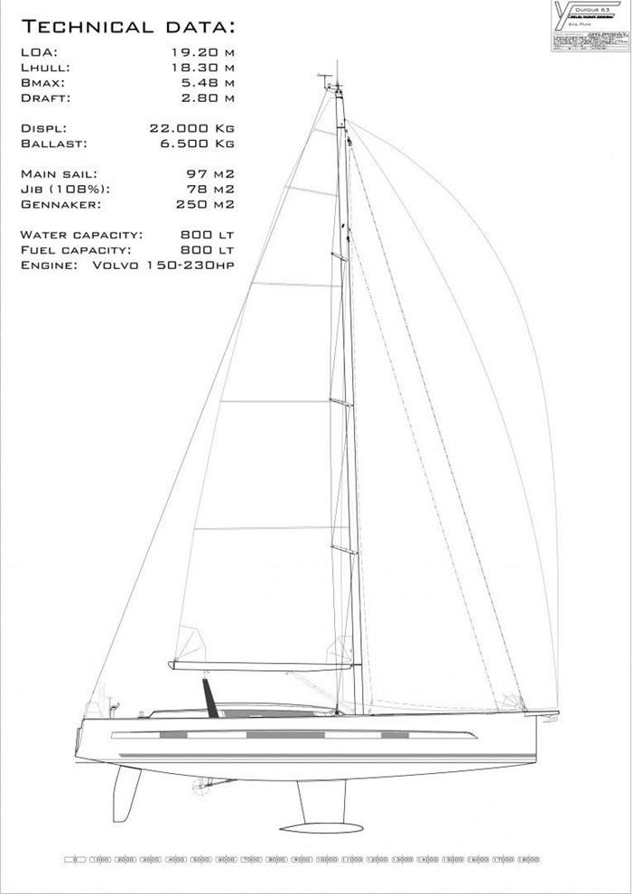 2019 Dufour Yachts Exclusive 63 Photo 45 sur 45