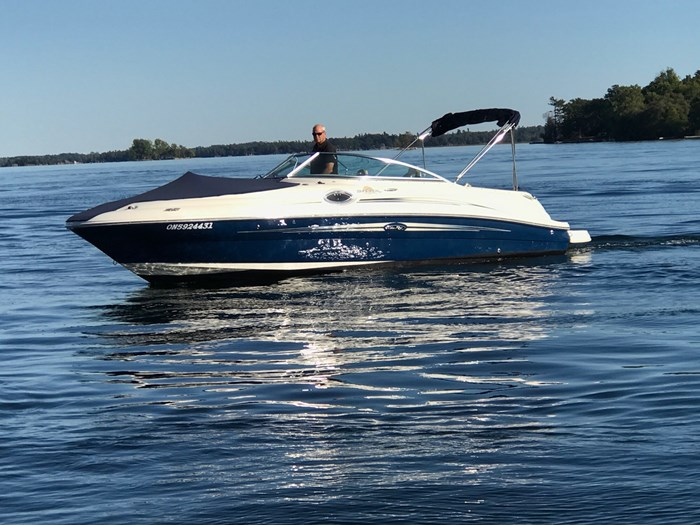 2007 Sea Ray 240 Sundeck Photo 1 sur 14