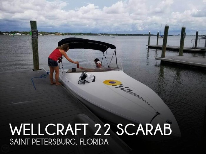 1995 Wellcraft 22 Scarab Photo 1 of 20