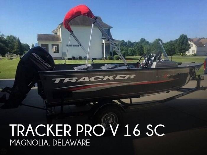 2016 Tracker Pro V 16 SC Photo 1 of 14