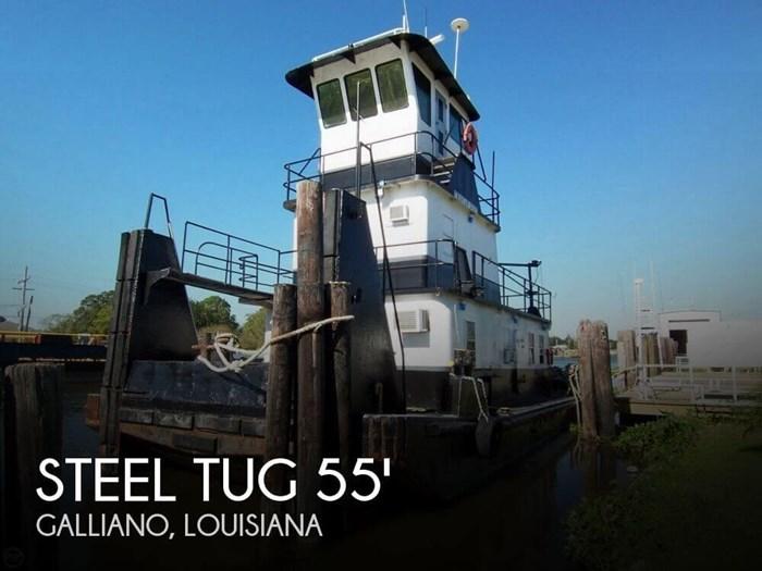 Steel Tug 55 Tug Towing Vessel TD 1979 Used Boat for Sale in Galliano,  Louisiana - BoatDealers ca