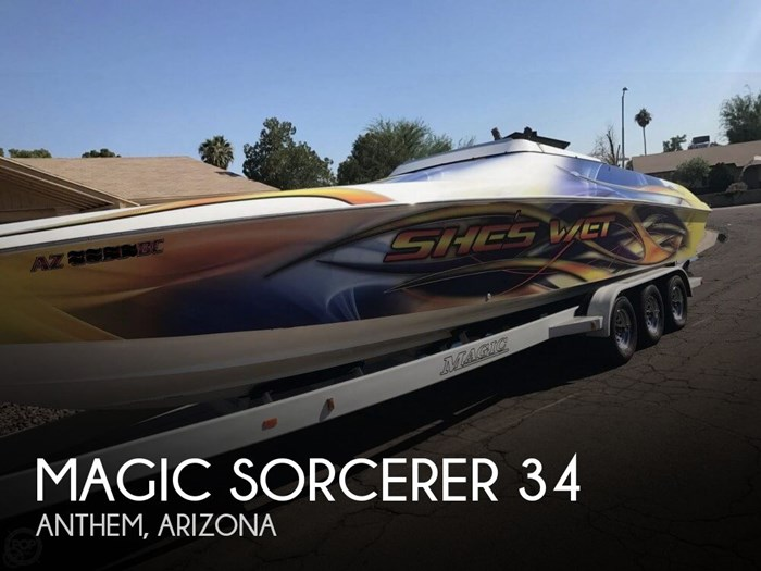 1999 Magic Sorcerer 34 Photo 1 of 20