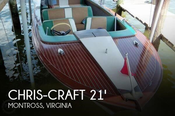 1961 Chris-Craft Model 21 Photo 1 of 20