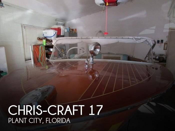 1961 Chris-Craft 17 Photo 1 sur 20