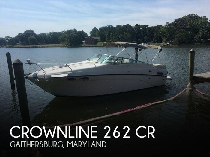 2002 Crownline 262 CR Photo 1 sur 20