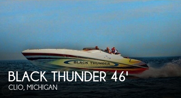 2002 Black Thunder Powerboats 460 XT EC Limited Edition Photo 1 of 21