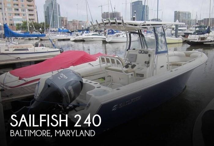 2013 Sailfish 240 Photo 1 of 20