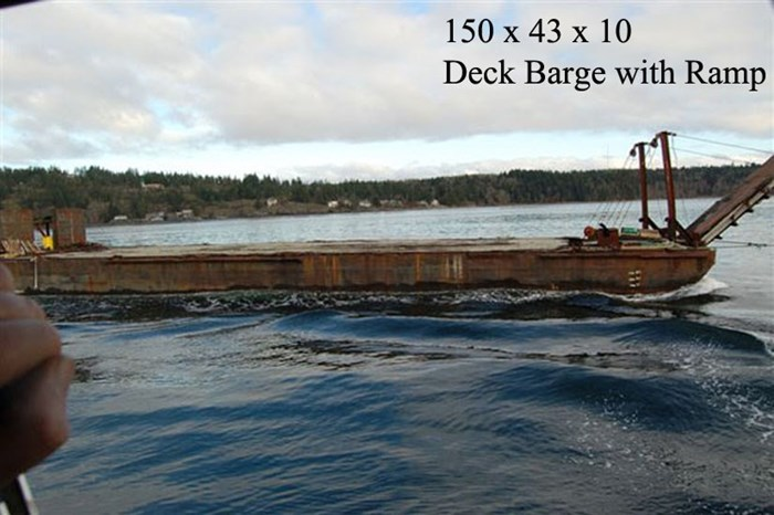 Deck Barge Ramp 1955 Used Boat for Sale in Campbell River, British Columbia  - BoatDealers ca