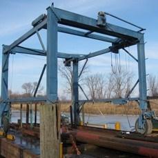 1995 Marine Travel Lift 15 ton capacity Photo 1 of 8