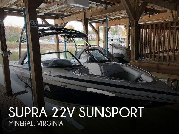 2010 Supra 22V Sunsport Photo 1 of 20