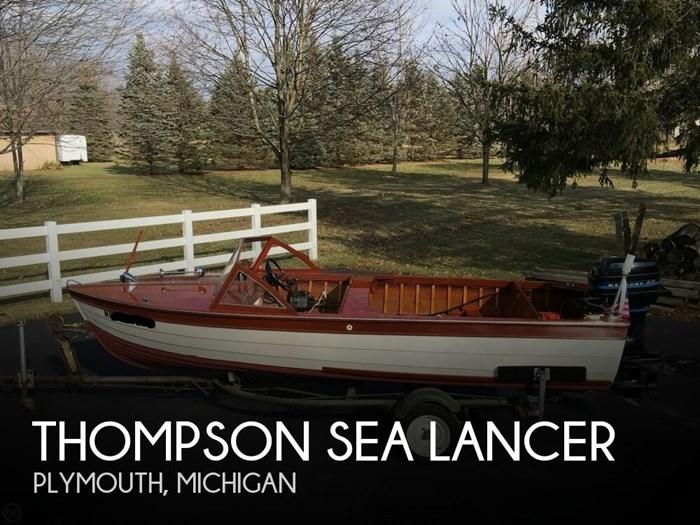 1957 Thompson Sea Lancer Photo 1 sur 20