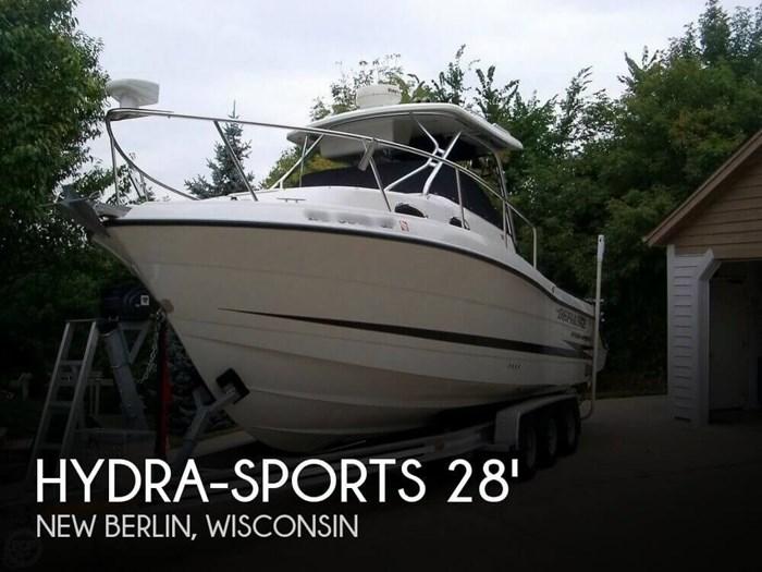 Hydra Sports 2800 Wa 2004 Used Boat For Sale In New Berlin Wisconsin Boatdealersca
