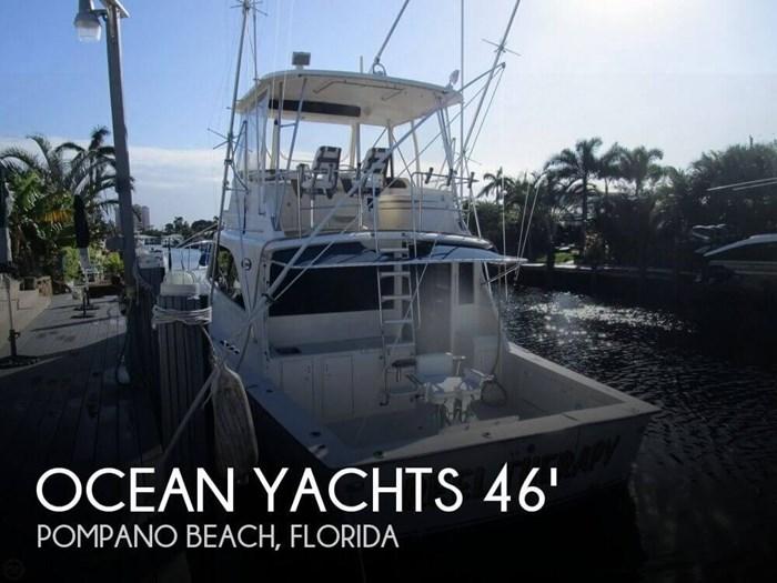 1983 Ocean Yachts 46 Super Sport Photo 1 sur 20