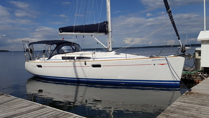 Jeanneau Sun Odyssey 39i 2009 Used Boat for Sale in Champlain, New York -  BoatDealers ca