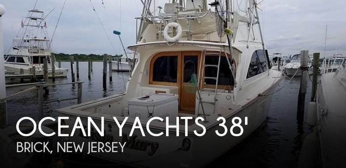 1984 Ocean Yachts 38 Super Sport Photo 1 sur 20