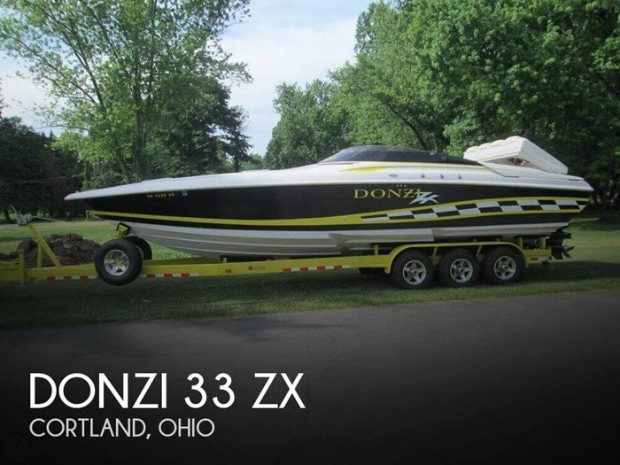 Donzi 33 ZX 1998 Used Boat for Sale in Cortland, Ohio - BoatDealers ca