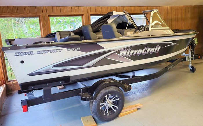 2021 MirroCraft Boat, Mercury Motor & Trailer (Package) Dual Impact 1766 - 20T - White Photo 1 of 22