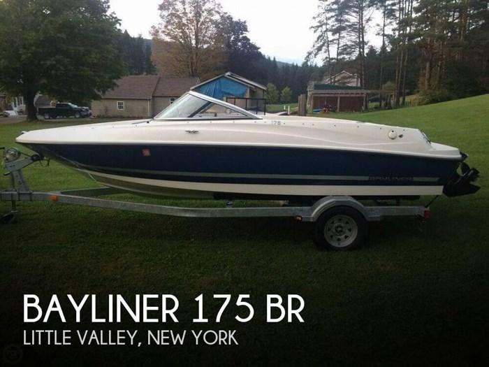 2015 Bayliner 175 BR Photo 1 sur 17
