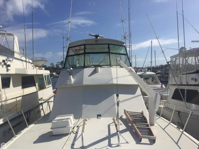 1983 Hatteras 55 C Photo 6 sur 20
