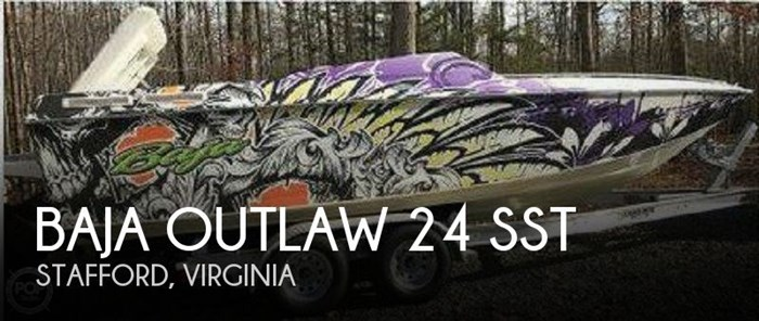 1997 Baja Outlaw 24 SST Photo 1 of 16