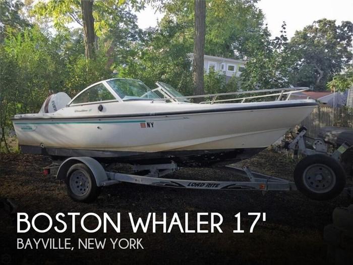 1995 Boston Whaler Dauntless 17 Dual Console Photo 1 sur 13