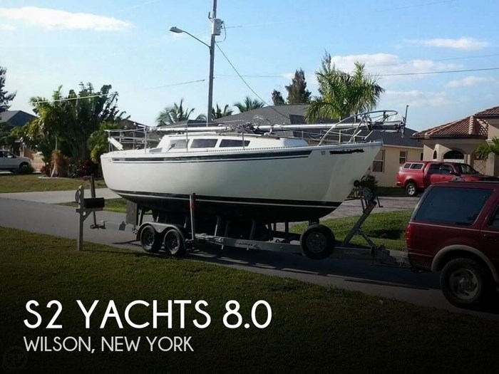1977 S2 Yachts 8.0 Photo 1 of 4