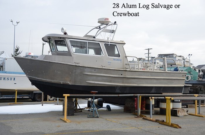 2002 Crewboat/ Water Taxi Log Salvage/Alum Tug Photo 1 of 7