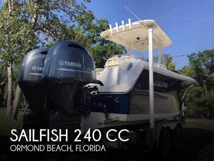 2017 Sailfish 240 CC Photo 1 sur 20